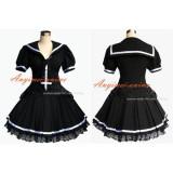 School Uniform Gothic Lolita Dress Cosplay Costume Tailor-Made[G339]