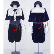 Rozen Maiden Lapislazuli Stern Souseiseki Outfit Dress Cosplay Costume Custom-Made[CK770]