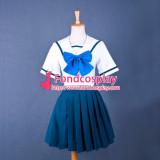 Robotics Notes Yoshino Nanjou School Uniform Cosplay Costume Tailor-Made[G782]