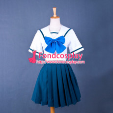 Robotics Notes Yoshino Nanjou School Uniform Cosplay Costume Tailor-Made[G782]