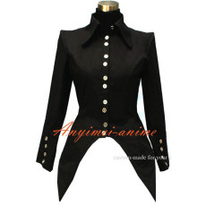 Gothic Lolita Punk Cotton Shirt Jacket Coat Cosplay Costume Tailor-Made[G453]