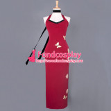 Resident Evil 5 Ada Wong Dress Qipao Movie Cosplay Costume Tailor-Made[G837]