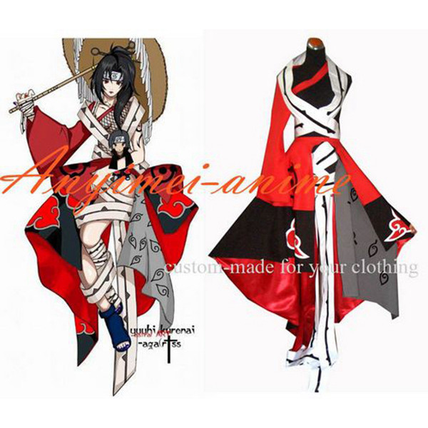 Naruto Yuuhi Kurenai Dress Cosplay Costume Tailor-Made[G200]