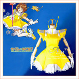 Cardcaptor Sakura Kinomoto Sakura Dress Cosplay Costume Tailor-Made[CK1208]