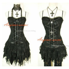 Gothic Lolita Punk Fashion Dress Cosplay Costume Tailor-Made[CK982]