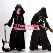 Kingdom Hearts Axel Jacket Organization Xiii Game Cosplay Costume Tailor-Made[G171]