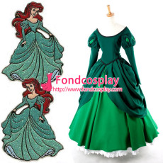 Princess Ariel Dress Movie Cosplay Costume Tailor-Made[G926]