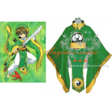 Cardcaptor Sakura Li Syaoran Jacket Coat Cosplay Costume Tailor-Made[CK946]