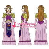 The Legend Of Zelda-Twilight Princess-Adult Zelda Dress Game Costume Tailor-Made[G1318]