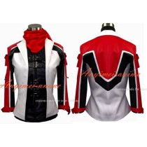 Tekken 6 Leo Jacket Coat Glove Game Cosplay Costume Custom-Made[G557]