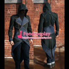 Assassin Creed Kenway Jacket Coat Cosplay Costume Cotton-Linen Tailor-Made[G1585]