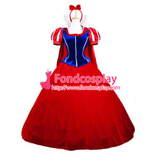 Velvet Snow White Princess Dress Movie Cosplay Costume Custom-Made[G858]