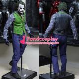 Halloween Batman Arkham Asylum Jacket Dress Game Women Clown Harley Quinn Outfit Cosplay Costume Custom-Made[G943]