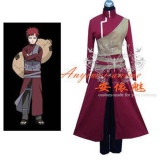 Naruto Gaara Outfit Jacket Coat Cosplay Costume Tailor-Made[G266]