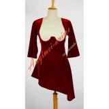 O Dress The Story Of O Velvet Dress Cosplay Costume Tailor-Made[G612]