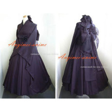 Japan Kimono Gothic Lolita Punk Fashion Dress Cosplay Costume Tailor-Made[CK1135]