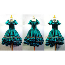 Gothic Lolita Chobits Chii Dress Cosplay Costume Tailor-Made[G654]