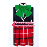 Demo Koi Ga Shitai! Kumin Tsuyuri Uniform Green Tie Cosplay Costume School Uniform Tailor-Made[G864]