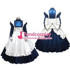 Lockable Pvc Maid Dress Maid Vinyl Uniform Tailor-Made[G1637]