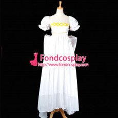 Sailor Moon Tsukino Usagi White Chiffon Dress Cosplay Costume Tailor-Made[G750]