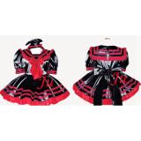 Gothic Lolita Punk Fashion Dress Lockable Uniform Cosplay Costume Tailor-Made[CK774]