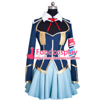 Medaka Box School Uniform Dress Cosplay Costume Tailor Made[G878]