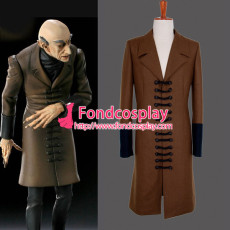 Nosferatu Phantom Der Nacht The Wool Coat Movie Costume Cosplay Custom-Made[G862]