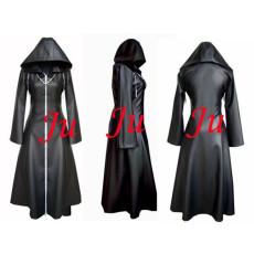 Kingdom Hearts Axel Jacket Coat Organization Xiii Game Cosplay Costume Tailor-Made[CK015]