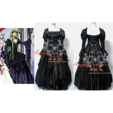 Rozen Maiden Gothic Lolita Punk Fashion Dress Cosplay Costume Tailor-Made[CK805]