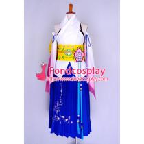 Final Fantasy Ffx 2 Yuna Sommer Dress Cosplay Costume Custom-Made[G727]