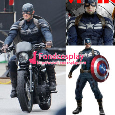 Captain America-The Winter Soldier-James Outfit Cosplay Tailor-Made[G1291]
