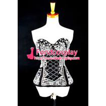 Gothic Lolita Hand Beaded Top Coat Corset Shirt Dress Cosplay Costume Tailor-Made[G984]