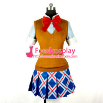 Binbougami Ga! School Uniform Dress Cosplay Costume Tailor-Made[G784]