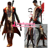Devil May Cry 5 Dmc - Dante Coat Jacket Game Cosplay Costume Tailor-Made[G1019]