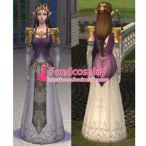 The Legend Of Zelda Twilight Princess Dress Game Costume Cosplay Tailor-Made[G1319]