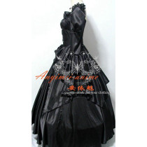 Rozen Maiden Gothic Lolita Punk Fashion Dress Cosplay Costume Tailor-Made[CK805]