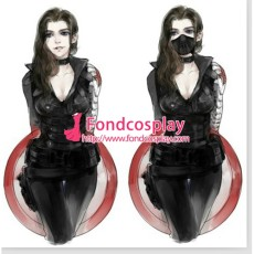 Women Captain America The Winter Soldier James Outfit (Female) Cosplay Costume Tailor-Made[G1340]
