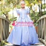 Park-Princess Cinderella Dress Movie Costume Dress Tailor-Made[G1418]