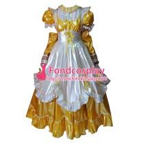 Lockable Pvc Maid Dress Maid Vinyl Uniform Tailor-Made[G1639]