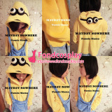 Despicable Me 2-Minions Outfit Pajamas Tailor-Made[G1294]