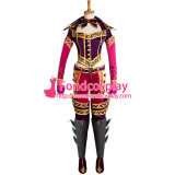 Lol Game High Command Katarina Du Couteau Outfit Cosplay Costume Custom-Made[G937]