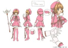 Heavy PVC Cardcaptor Sakura Clear Card outfit [003]