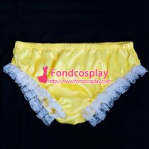 French Sissy Maid Satin Panties Cosplay Costume Tailor-Made[G2053P]