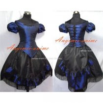 Victorian Rococo Medieval Gown Cothic Lolita Punk Dress Cosplay Costume Custom-Made[G543]