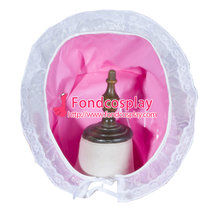 French Sissy Maid Pvc Hat Uniform Cosplay Costume Tailor-Made[G3782]