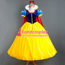 Snow White Princess Dress Belle Dress Christmas Cosplay Costume Custom-Made[G886]