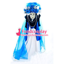 Carnival Of Venice Traditional Italian Hat Headpiece Cosplay Costume Custom-Made[G983]