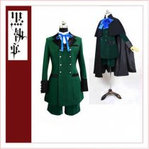 Black Butler Kuroshitsuji Ciel Phantomhive Season 2 Earl Alois Trancy Cosplay Costume Tailor-Made[CK1355]