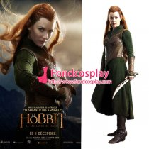 The Hobbit-Desolation Of Smaug-Tauriel Costume Cosplay Tailor-Made[G1287]