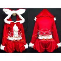 Christmas Party Chobits Chii Cardcaptor Sakura Dress Cosplay Costume Custom-Made[G552]